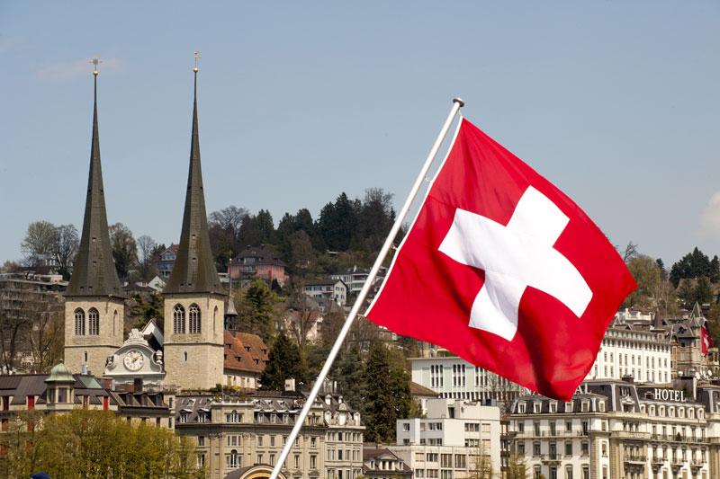 Akustik Gerspach - Schweizer Flagge